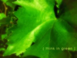think in green by SimonTroncoso