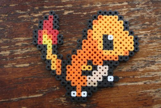 #004 Charmander (Mini) by Puppylover5