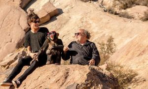 Louis, Monkey and Danny Devito by Namine24