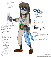 9 oc: Tanya by tomahachi12