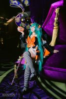 Miku 2014 halloween figure ver. by pocketpoke