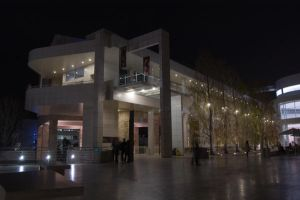 Getty at Night 2 by stevecliff