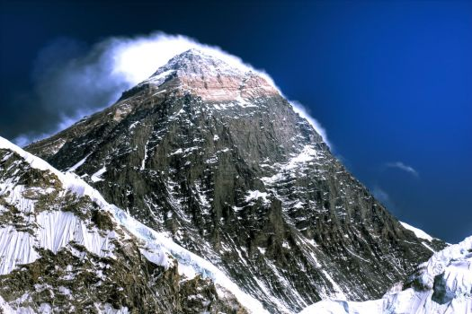 Everest from Kala Patthar by godintraining