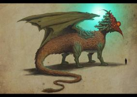 NectarDragon by DanilLovesFood by Realm-of-Fantasy