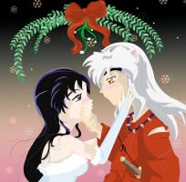 Christmas Kiss by vampqueen1
