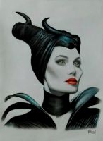 Maleficent by RichmonDeLeon
