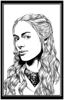 Cerci Lanister Game Of Thrones by GothPunkDaddy