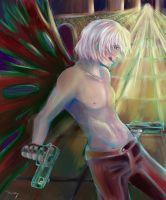 Devil May Cry 3 : Dante by Tessay