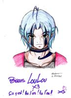 old draw for Loulou by Aiko-Katon