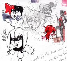 Harley sketches by AlixPaugam