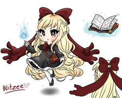 Witzee, the Witch of Psychokenises by StarGamer01