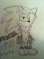 Axel the hedgehog by silverfan7677