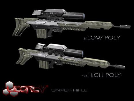 Legacy Sniper Rifle by karlanemperor