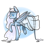 Sky Goddess Pegasus **AUCTION OPEN** by BlueyedRED
