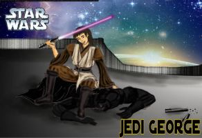 Jedi George by TantzAerine