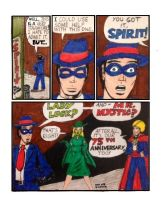 Spirit Comic Tribute (with two guests) by R-gonz