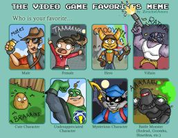 My Video Game Favorites by Newhound