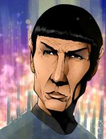 Leonard Nimoy - Tribute by Spidertof