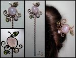 Hairpin Forbidden garden 2 by JSjewelry