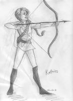 Katniss by burdge