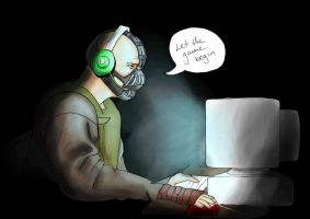 Bane Plays Slender by KatTheKillerOfSouls