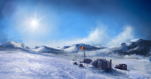 Ice Desert by GFITHER