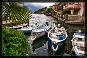 Limone Harbour Boats 2 by deaconfrost78