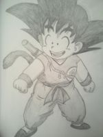 Young Goku by XSlappyTheDummyX