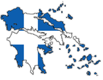 Kingdom of Greece 1832 Flag-Map by CaptainVoda