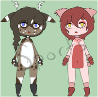 Anthro Adopts REDUCED PRICE - $1 EACH by Sports3388