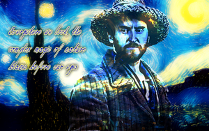 Vincent van Gogh widescreen wallpaper by Leda74