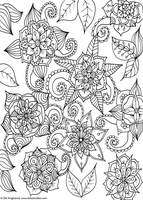 Flowery Doodle by WelshPixie
