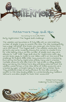 Pottermore Magic Quill Journal by Lost-in-Hogwarts