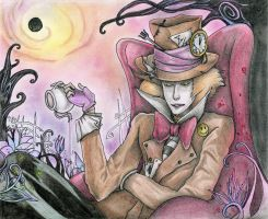 Mad Hatter - Colored by Andrex91