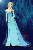 Queen Elsa by Explodifirer