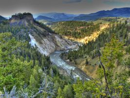 Yellowstone in HDR 6 by draqza