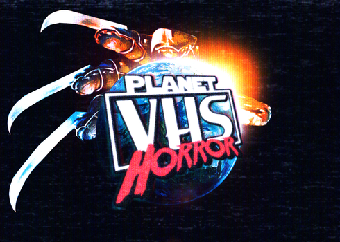 Planet VHS Horror logo by NiteOwl94