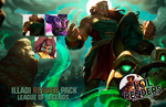 League of Legends Illaoi Render Pack by ViciousBlue