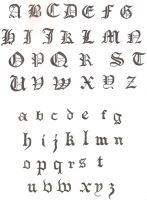 Calligraphy by arkadeievitch