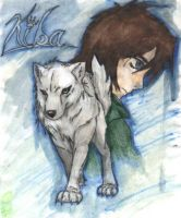Wolfs rain fanart by ryupower