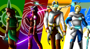 The Founders of the Nexus Force by Bobbricks123