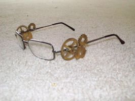 Steampunk Glasses -Left- by I-Am-Imaginary