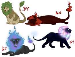 [OPEN] Lion Adopts by MiqotesosAdopts