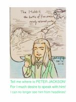 Lord Celeborn wishes to have a word... by fish-in-fridge