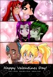 Happy Valentines Day 2015 - Teen Titans by pizet