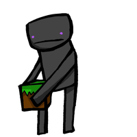 So I drew an Enderman by KatLovesMusic