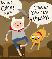 Adventure Time: Pinoy LUL by janelvalle