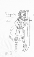 Seraphim Ref Sheet Adveture Time OC by Princess-Seraphim