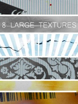 8 large textures by Kiho-chan