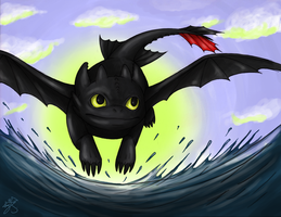 Toothless by SaaraBlitz